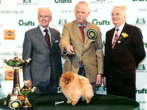 Group winner at Crufts